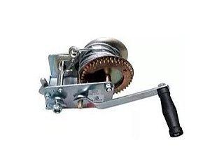 Peças e acessórios Lanchas Focker - Guincho Manual p/ Carreta c/ Fita em Nylon - 2500 lb - Ruptura: 1700kg