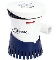 Peças e Acessórios Lancha Focker - Bomba De Porão Tsunami 800 Gph - 3.028 Litros Hora - 12v
