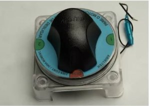 Peças e Acessórios Focker - Chave seletora de baterias para 2 baterias 03 posições