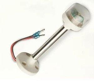 Peças e acessórios Lanchas Focker - Luz circular de ancoragem à LED, ABS de alto impacto 16cm (Preto, branco ou cromado) 1 un.