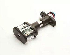 Peças e acessórios Lanchas Focker - Luz circular de ancoragem retangular à LED 10cm (Preto) 1 un.