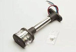 Peças e acessórios Lanchas Focker - Luz circular de ancoragem retangular à LED 16cm (Preto) 1 un.