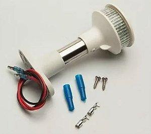 Luz Circular de ancoragem à 20 LEDs Alta intensidade 10cm (Preto, branco)