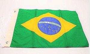 Peças e Acessórios Lancha Focker - Bandeira do Brasil 22 x 33cm