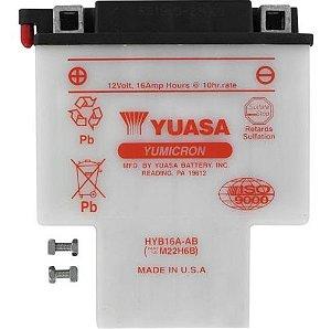 Peças e Acessórios Lancha Focker - Bateria Yuasa HYB16A-AB