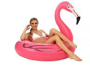 Peças e Acessórios Lancha Focker - Boia Inflável Flamingo