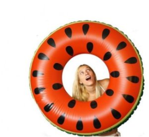 Peças e Acessórios Lancha Focker - Boia Gigante Float Fruta Melancia