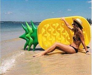 Peças e Acessórios Lancha Focker - Boia Gigante Fruta Abacaxi Inflável