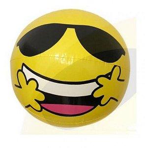 Peças e Acessórios Lancha Focker - Boia Inflável Emoji Óculos