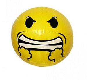 Peças e Acessórios Lancha Focker - Boia Inflável Emoji Nervoso