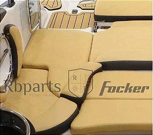 Peças e Acessórios Lancha Focker - Capa do Assento Sob Escada (Peixinho) Focker 230