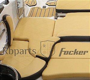 Peças e Acessórios Lancha Focker - Assento Sob Escada (Peixinho) Focker 230