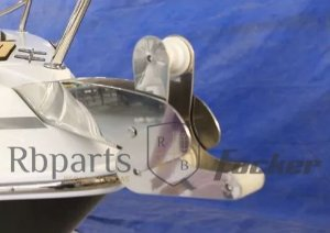 Peças e Acessórios Lancha Focker - Suporte De Âncora Roller Focker 240