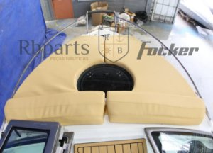 Peças e acessórios Focker - Almofada de Proa Focker 215/230