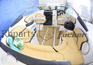 Estofado Focker 215 (courvin) Capa Dos Bancos Completo
