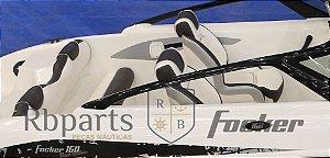 Peças e Acessórios Lancha Focker - Estofamento Completo Focker 160
