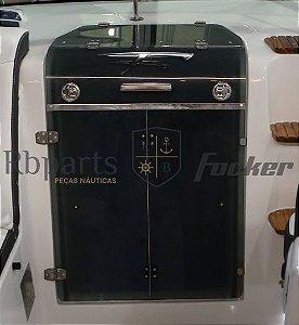 Peças e acessórios Focker - Acrílico Porta da Cabine Focker 280/305