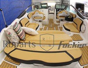 Peças e acessórios lanchas Focker - Estofamento completo Focker 240