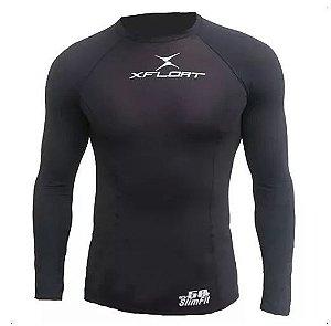 Peças e Acessórios Lancha Focker - Camiseta de Lycra Masculina Uv 50 Slim Fit P M G GG