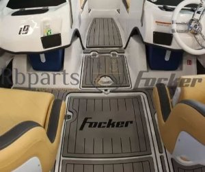 Peças e Acessórios Lancha Focker - Tapete Eva Completo Focker i9