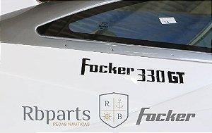 Peças e acessórios Focker - Adesivo Resinado Focker 330 GT