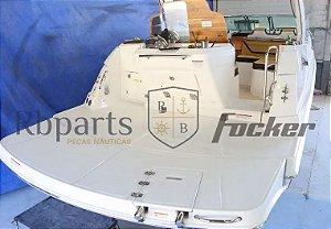 Peças e acessórios lanchas Focker - Extensão da Plataforma De Popa Focker 310/320/330