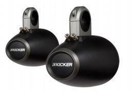 """Peças e Acessórios Lancha Focker - Suporte Kicker P/ Falantes 6,5"""" Preto Simples - 12KMTESW"""