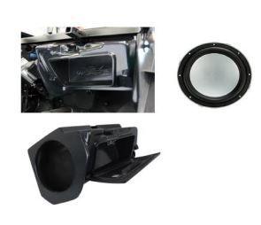 Peças e Acessórios Lancha Focker - Polaris RZR XP 1000 BOX SUB BOX SUBWOOFER KICKER KMW102 MARINE 10P
