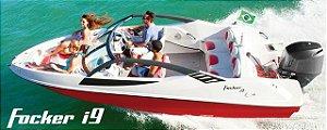 Peças Para Barcos E Lanchas -estofado Focker I9 (courvin) Capa Dos Bancos Completo