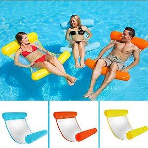 Bóia Rede Cadeira Flutuante Para Mar e Piscina