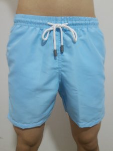 Shorts Focker Azul Neon