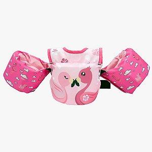 Colete Kids Homologado - Flamingo