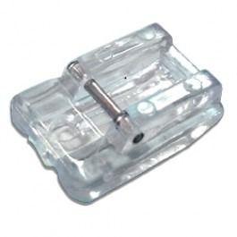 Calcador De Plástico Para Pregar Zíper Invisível Para Máquinas Domésticas