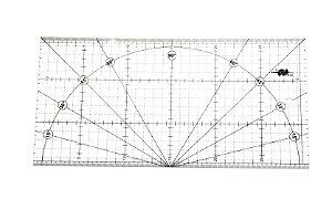 Régua 15x30 para Patchwork Scrapbook