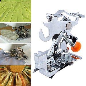 Calcador de Franzir e Fazer Pregas para Máquina Doméstica