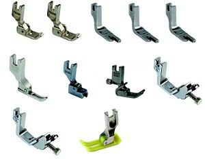 Kit de Calcadores para Máquina Reta Industrial 13 peças