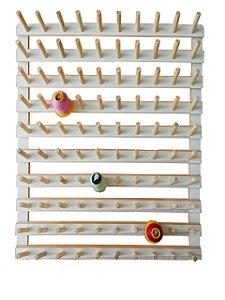 Porta Fio de 100 Cones + Porta Fio de 50 Cones para Viés + Porta Fio de 50 Cones Porta Carretilha