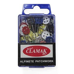 Alfinete Cabeça de Botão para Patchwork 80 PÇS