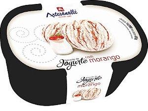 Sorvete Iogurte com Morango