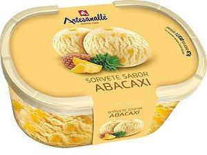 Sorvete sabor Abacaxi