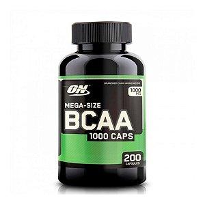 BCAA 1000MG (200 CÁPSULAS) - OPTIMUM NUTRITION