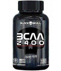 BCAA 2400 BLACK SKULL - 100 tabs
