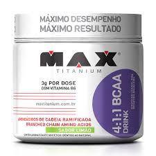 BCAA DRINK 4:1:1 MAX TITANIUM - 280g
