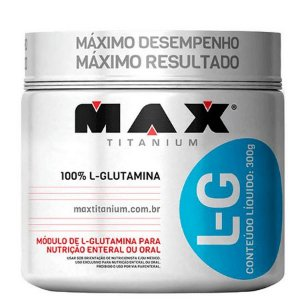 GLUTAMINA MAX TITANIUM - 300g