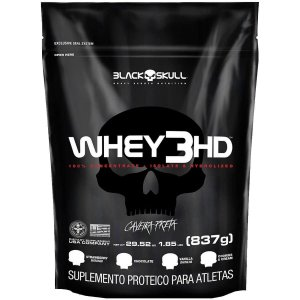 WHEY 3HD BLACK SKULL - 837g