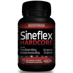 SINEFLEX HARDCORE POWER SUPLEMENTS - 150 caps