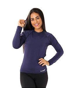 Camisa UV Ocean Feminina Azul Marinho