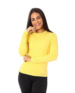 Camisa UV Ocean Feminina Amarela