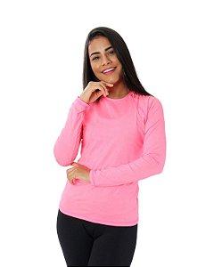 Camisa UV Ocean Feminina Colorfull Rosa