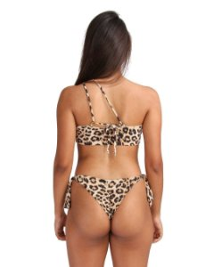 Calcinha Life De Amarrador Lateral Ripple  Animal Print